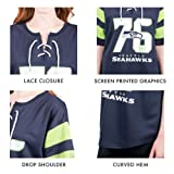 Ultra Game Women's NFL Penalty Box Jersey, New