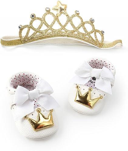 Amazon.com: Zapatillas de cumpleaños para niñas, suela suave ...