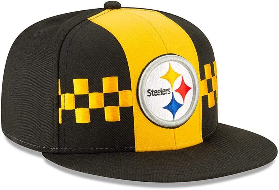 Black New Era Pittsburgh Steelers 2019 NFL Draft Official On-Stage 59FIFTY Fitted Hat