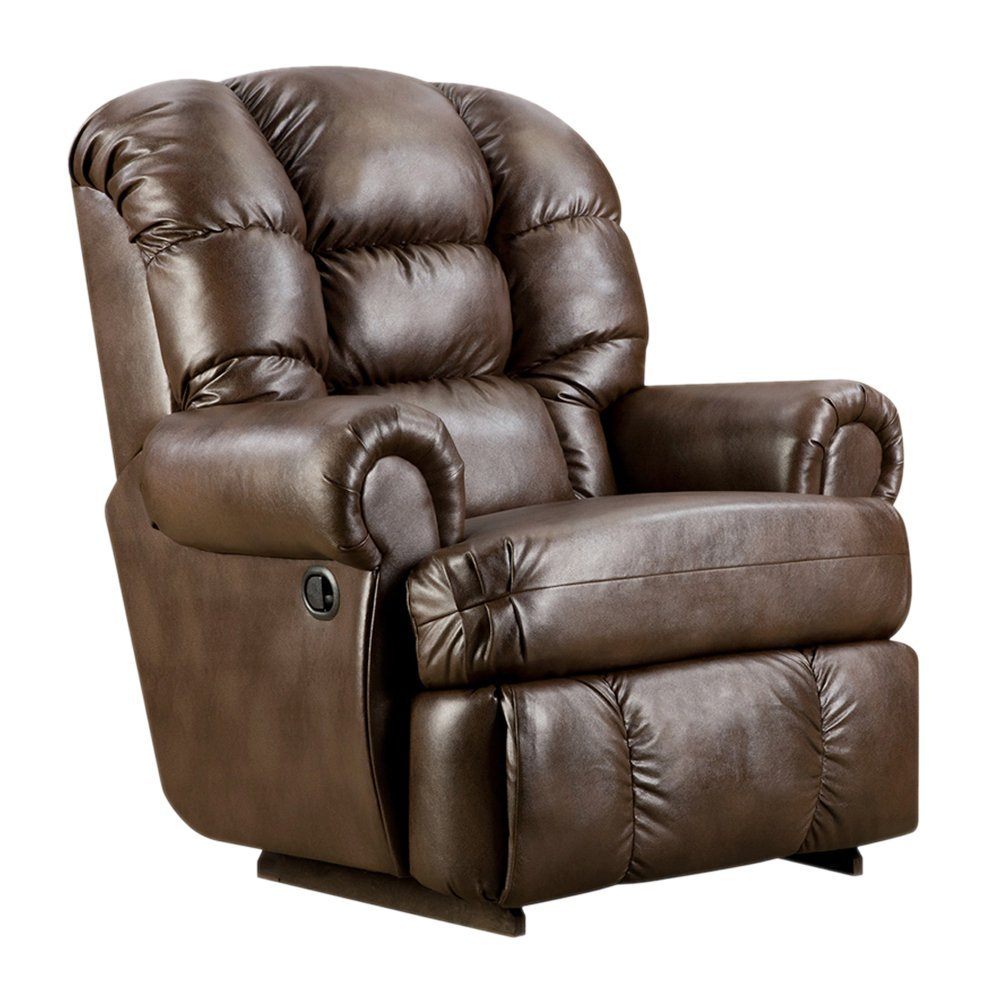 Amazon Flash Furniture Big And Tall 350 Lb Capacity Loggins Espresso Leather Recliner Kitchen Dining