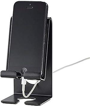 Acrimet Soporte para Teléfonos Celulares Inteligentes (Smartphone) para Mesa o Pared (Color Negro): Amazon.es: Electrónica