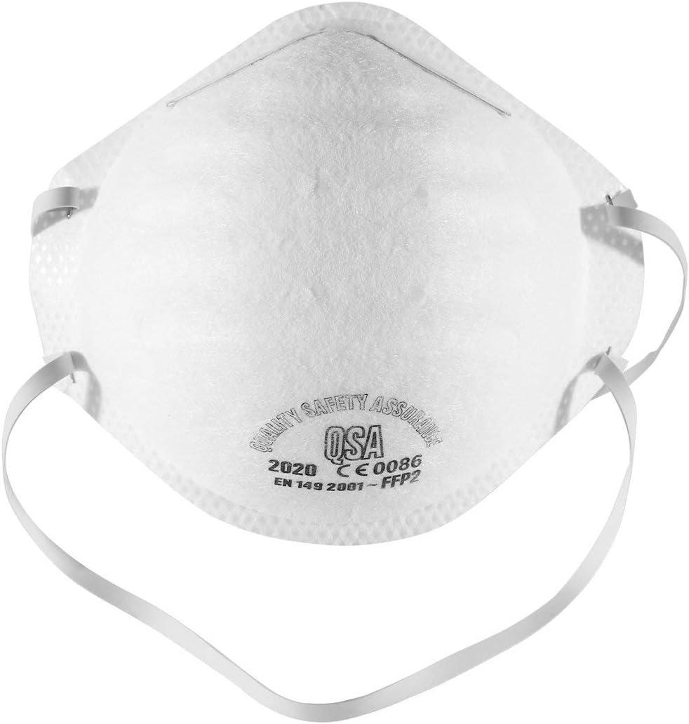 Tree-on-Life Máscara N95 FFP2 Filtro de máscara antipolución 95% Bacterias Anti PM2.5 Protección Máscara de polución contra el Polvo Máscaras de Seguri