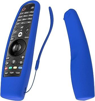 SIKAI CASE Funda Compatible con LG AN-MR18BA Mando a Distancia Protectora de Silicona Antichoque Resistente a Golpes para AN-MR600 AN-MR650 AN-MR650A AN-MR19BA AN-MR20GA Azul: Amazon.es: Electrónica