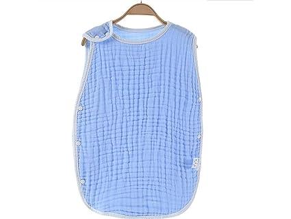 UHUA Bebé recién nacido verano sin mangas antideslizante saco de dormir saco de dormir nido adecuado