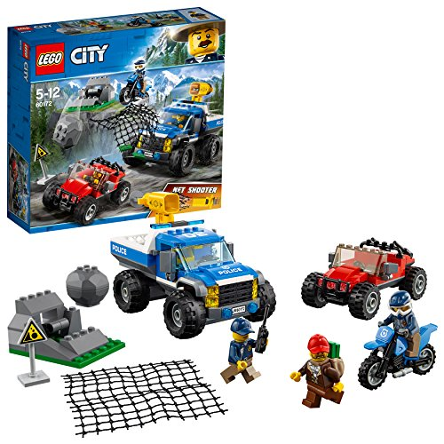 [해외] 레고(LEGO) 씨티 산의 폴리스 카와 폴리스 오토바이 60172