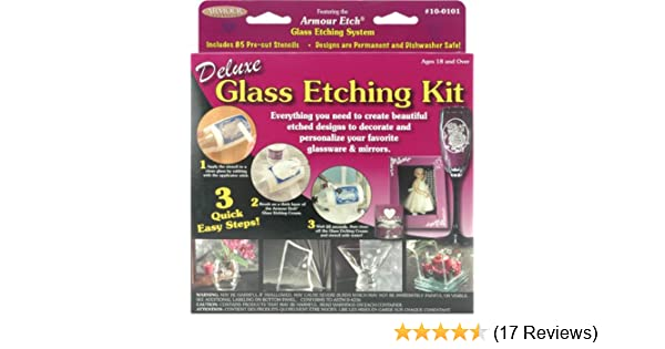 Armour Etch Deluxe Glass Etching Kit 10-0101