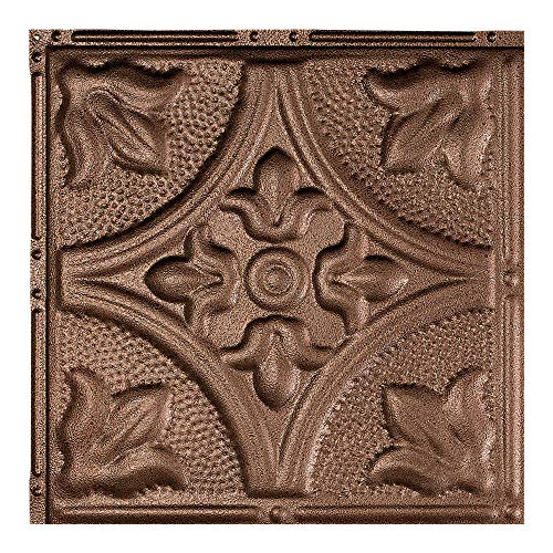 Great Lakes Tin Jamestown Penny Vein Nail-Up Ceiling Tile (12
