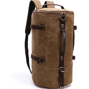 LIFEIFENG LF&F Backpack 36-55 de Alta Capacidad Mochila Bolso Redondo Cubo Hombros montañismo Bolsas