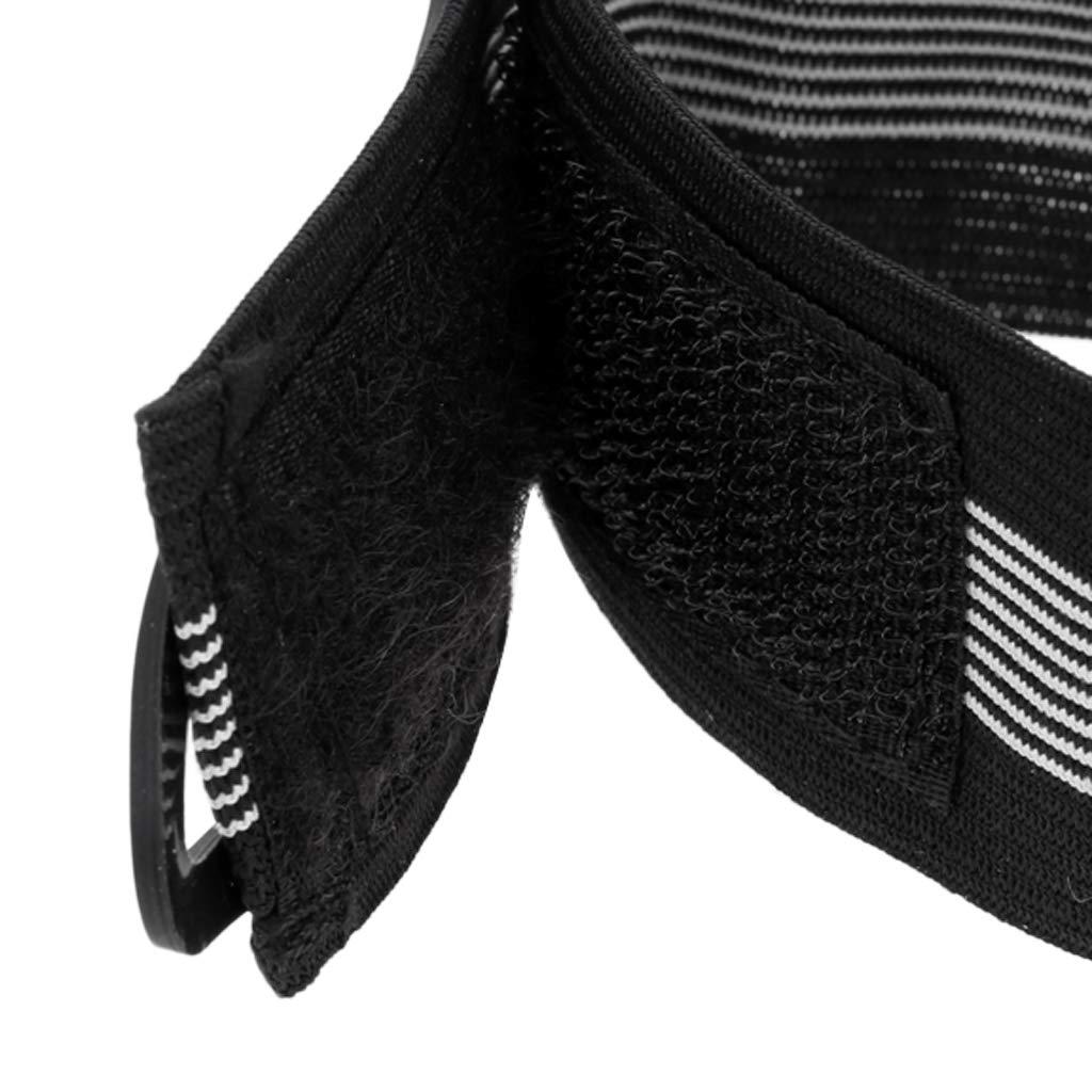 Pantalon de V/élo Convient pour Jogging Cyclisme perfeclan 2pcs Sangle de Jambe de Bicyclette