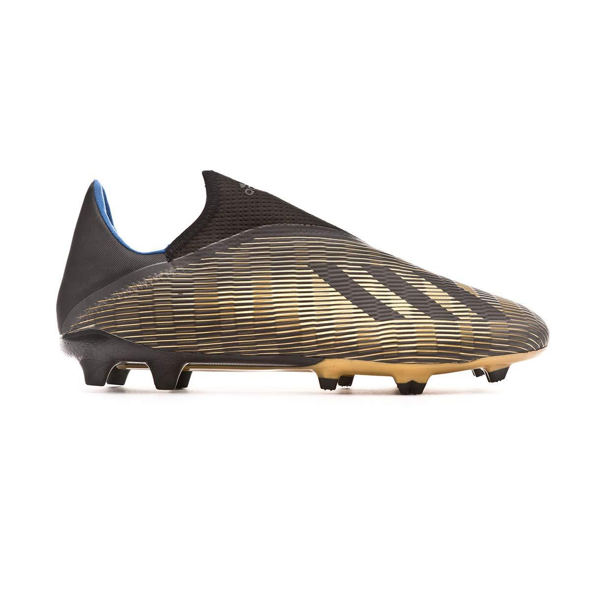 Core Black-Gold Metallic adidas X 19.3 LL FG Bota de f/útbol