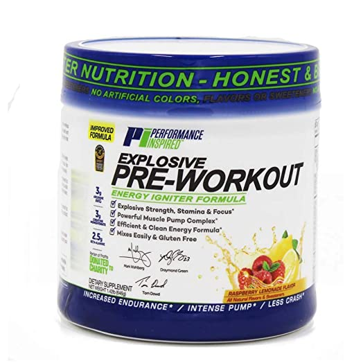Performance Inspired Nutrition Explosive Pre-Workout