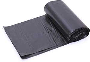 2.6-4 Gallon Black Small Trash Bags, Thin Material, Office Bedroom Wastebasket Trash Bags 120 Counts