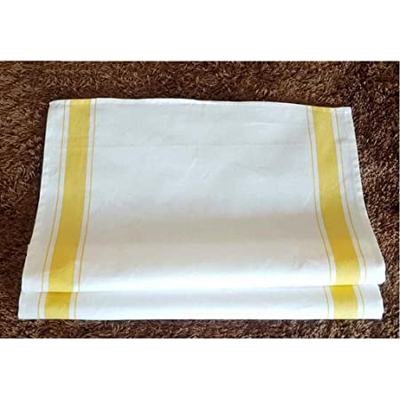 MXJ61 Toallita de algodón amarilla La servilleta de la barra del ...