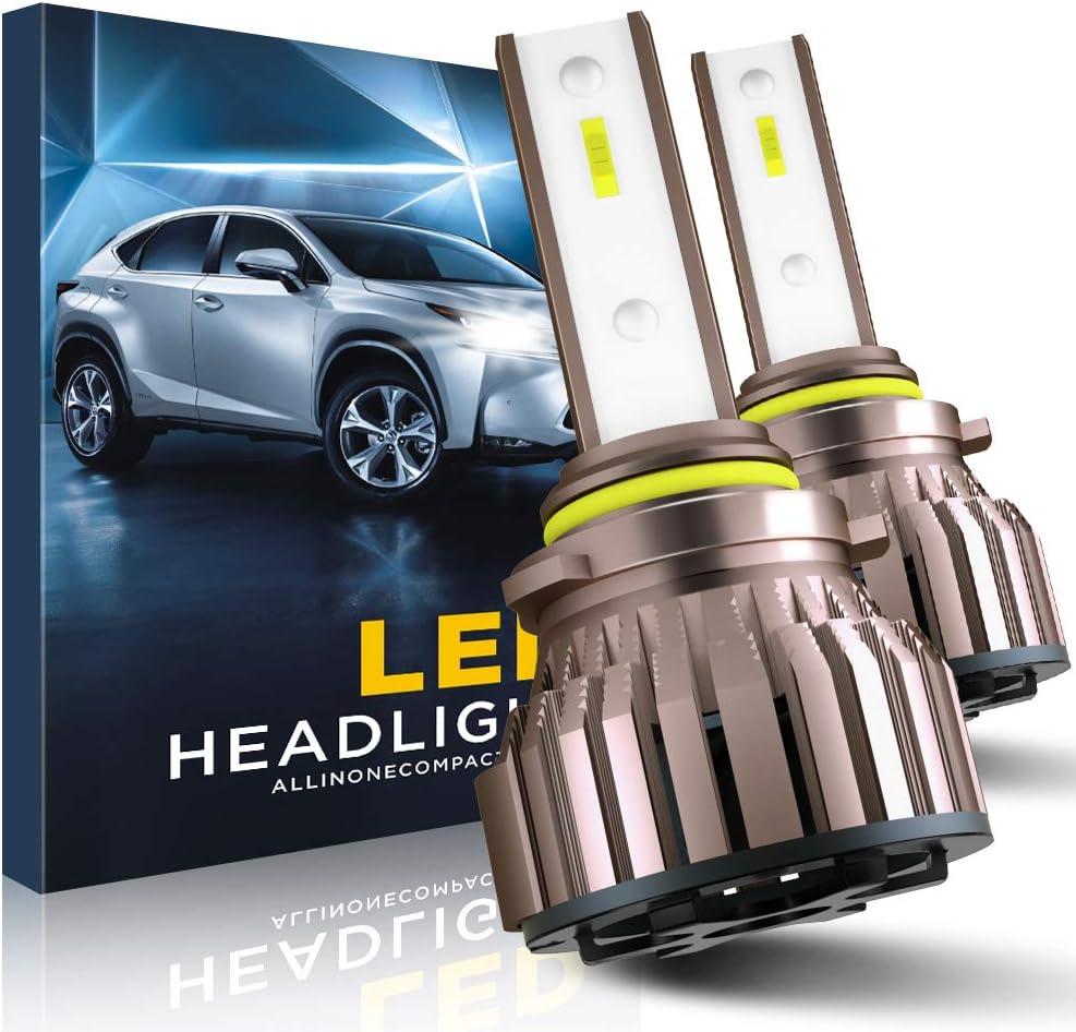 EASY EAGLE H1 LED Headlight Bulbs 10800LM 6000K