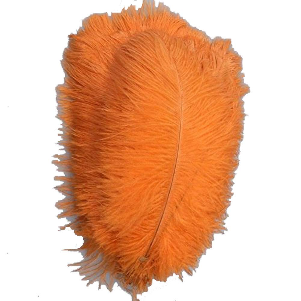 White CENFRY 100pcs Ostrich Feathers 18-20inch Plumes for Wedding Centerpieces Home Decoration