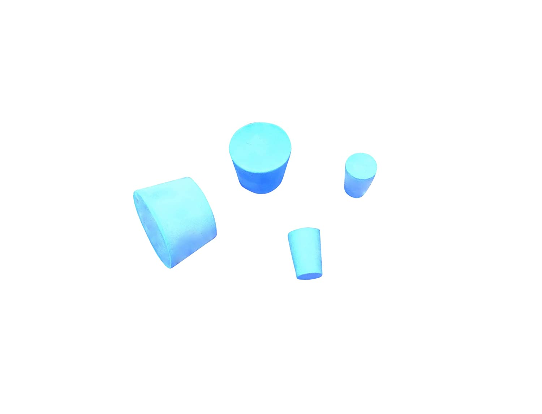 #4 Size Ajax Scientific Solid Rubber Stopper