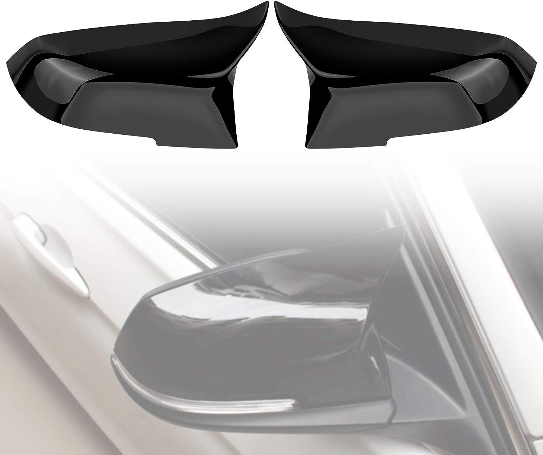 Rückspiegelkappe Spiegelkappen Rückspiegelabdeckung 1 Paar Kappe Für 220i 328i 420i F20 F21 F22 F30 F32 F33 F36 X1 E84 Farbe Auto
