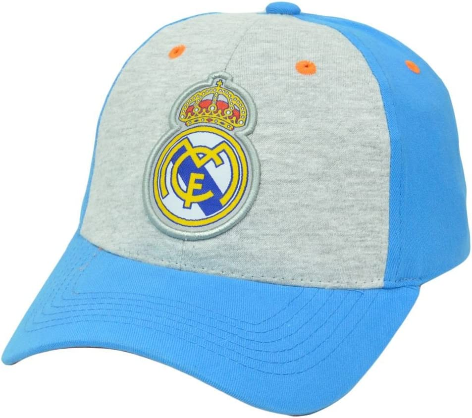 Real Madrid CF Rhinox Liga bbva Futbol Soccer dos tonos hebilla del sol sombrero gorra España: Amazon.es: Deportes y aire libre