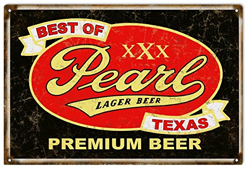 Victory Vintage Signs Reproduction Pearl Lager Beer Sing Old Looking