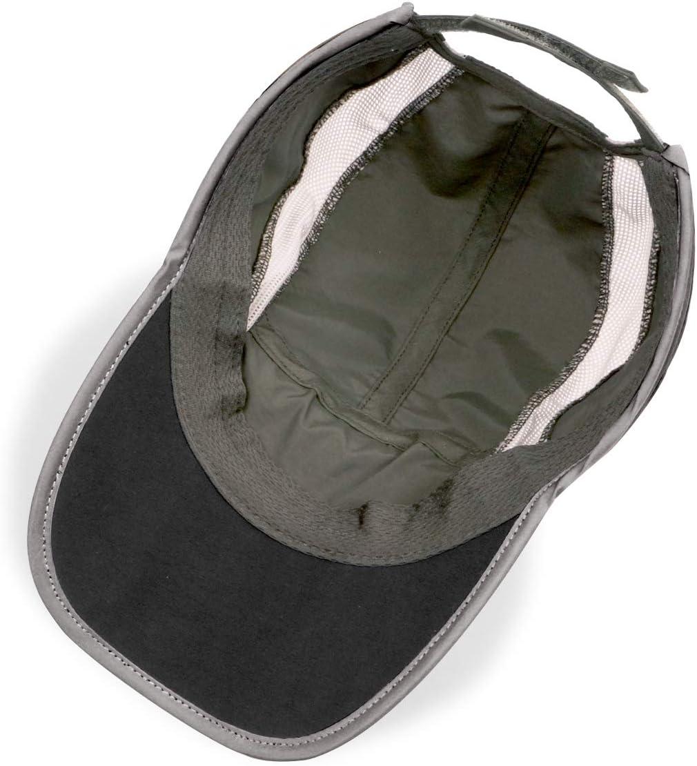 ligera protecci/ón UV sombreros para actividades al aire libre iBasingo Gorra de b/éisbol de ala suave secado r/ápido para correr impermeable transpirable para hombres y mujeres