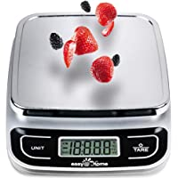 Easy@Home Digital Kitchen Scale Food Scale with High Precision to 0.04oz and 11 lbs Capacity, Digital Multifunction…