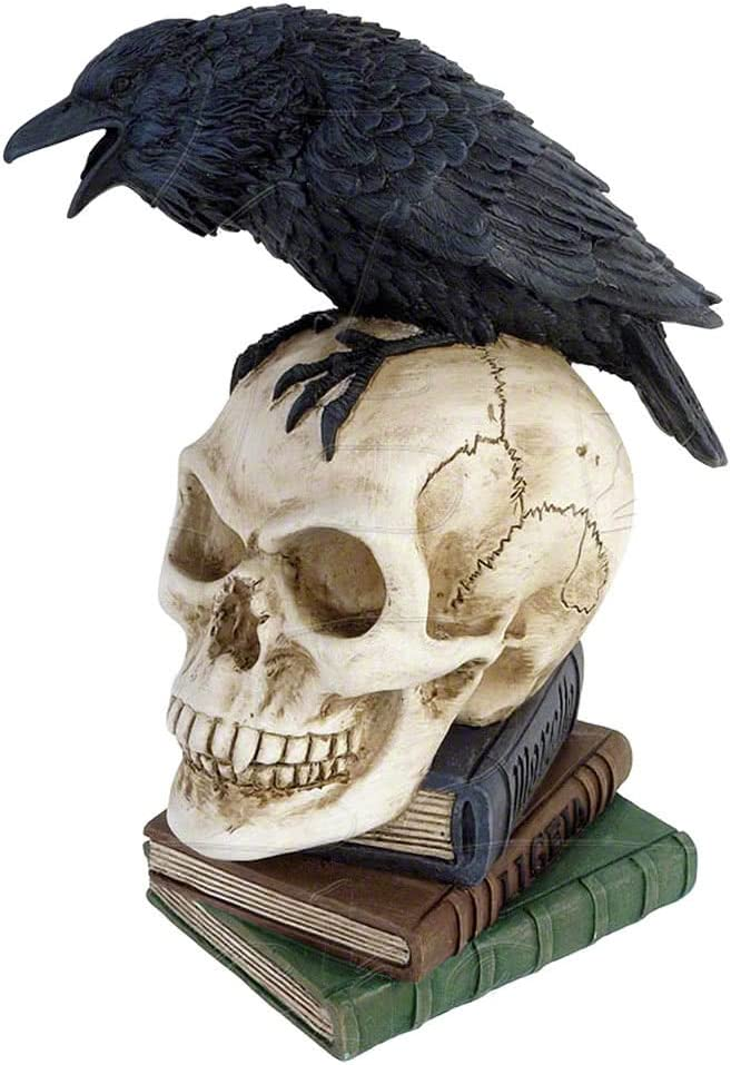 Alchemy of England The Vault Halloween Party Poes Raven Skull