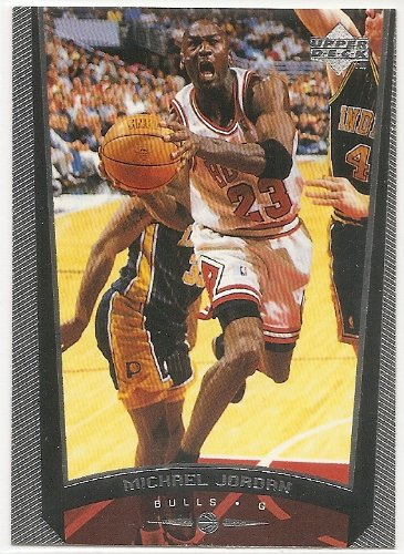 Michael Jordan 1998-99 Upper Deck Chicago Bulls Card #230W
