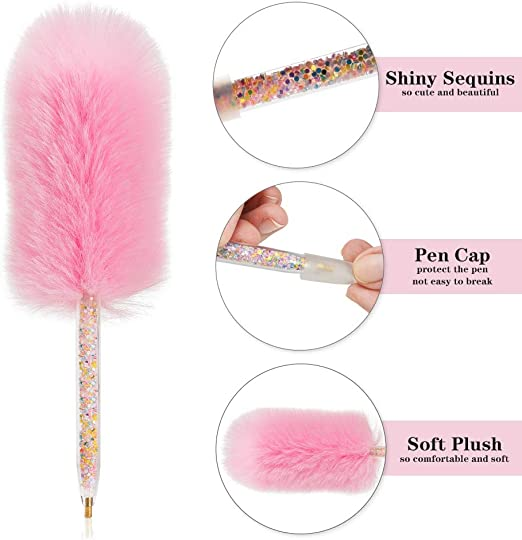 Sonsage Diamond Painting Drill Pen for Adult,Plush Pen DIY Accessories Drill for Crystal Rhinestone Drill Jewel Beads Kit,Embroidery Crafts Art Tool for Kids 2 pcs