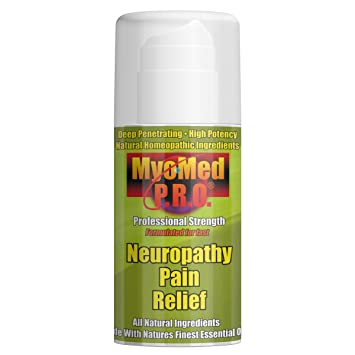 Best Neuropathy Pain Relief Cream. Clinically Proven Essential Oil Formula  Gives You Fast Treatment For