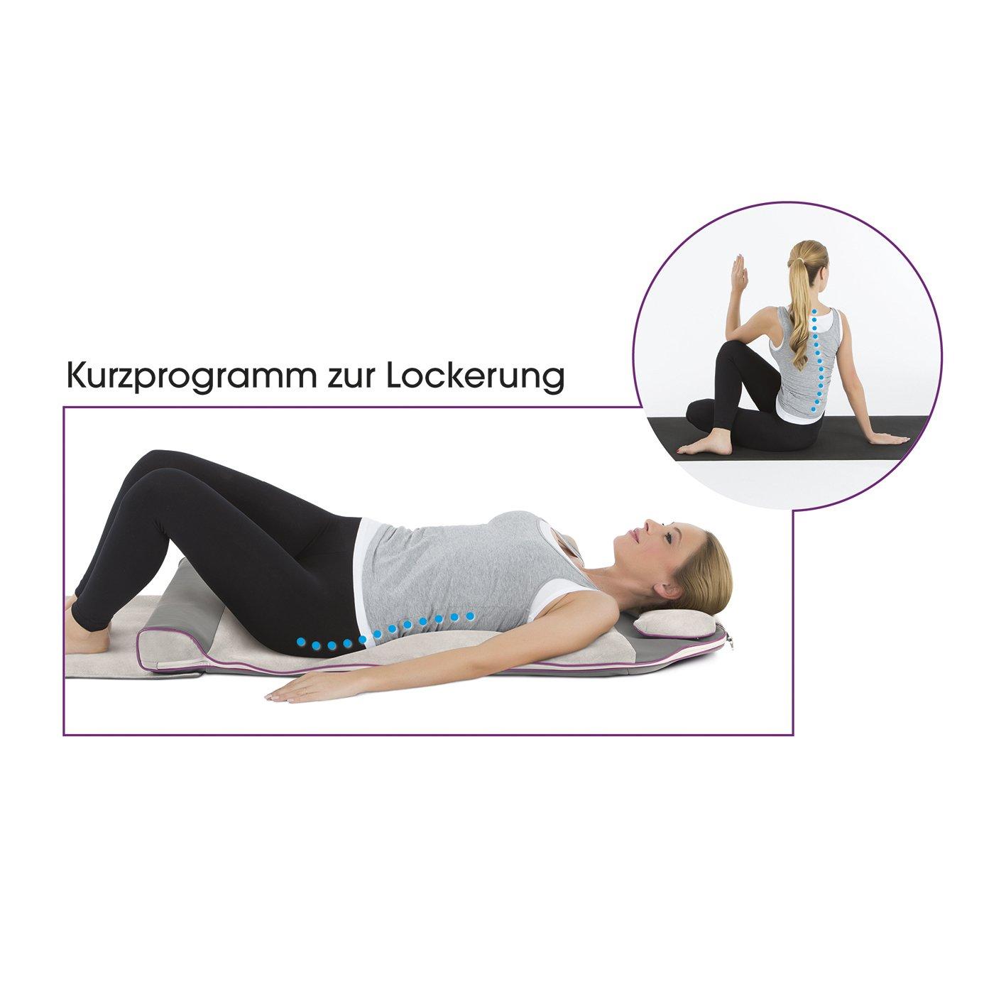 /de yoga/ /Colchoneta de masaje 24/W grau| con 5/C/ámaras de aire Vitalmaxx/ 4/Varios programas