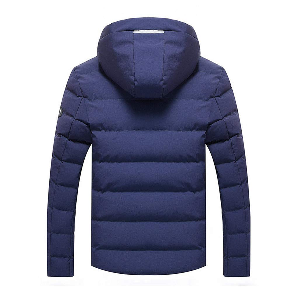 Amazon.com : Clearance!Men Winter Warm CoatMens Winter Pure Color Zipper Stand Collar Baseball Coat Cotton Outwear Tops : Sports & Outdoors