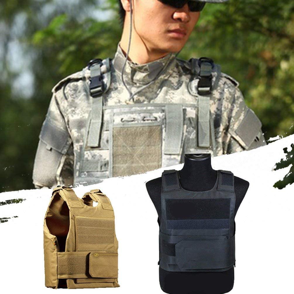 Oyamihin Outdoor Supplies Black Hawk Tactical Vest Outdoor-Schutzausr/üstung Training Taktische Schutzweste 1 schwarz