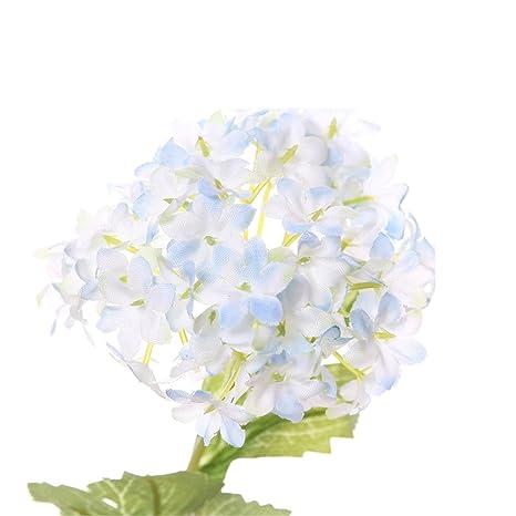 Matrimonio Azzurro Ortensia : Ortensia artificiale decorativa matrimonio fiori partito