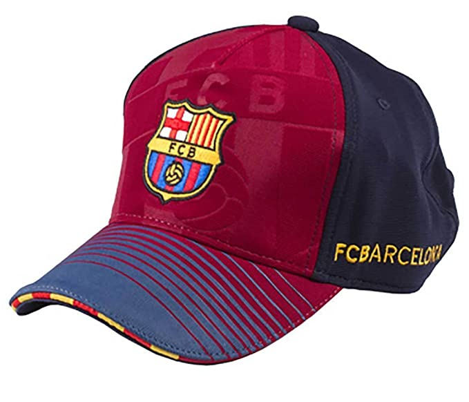 GORRA FC BARCELONA OFICIAL SOCCER BLAUGRANA ADULTO