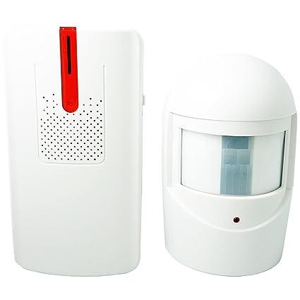 100 m inalámbrico al aire libre visitante entrada timbre/alarma/alerta – Sensor de