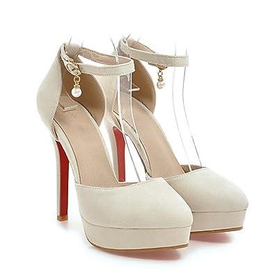 DIMAOL Chaussures Pour Pour Pour Femmes en Cuir Nubuck Printemps Été Nouveauté c91b10