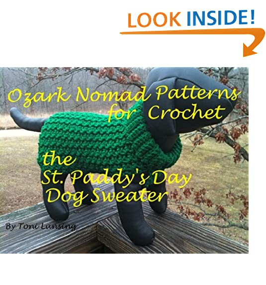 Crochet Dog Sweater: Amazon.com