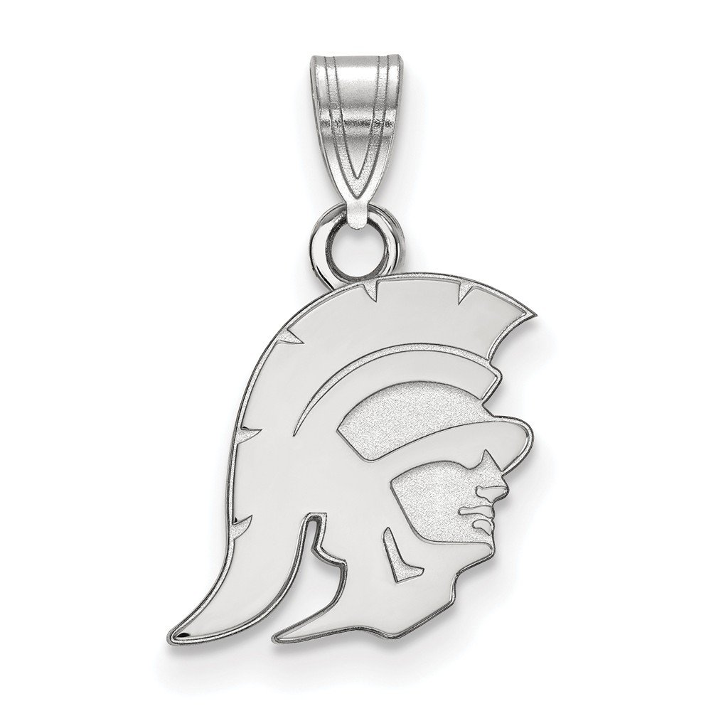 FB Jewels Solid 925 Sterling Silver University Of Southern California Small Pendant