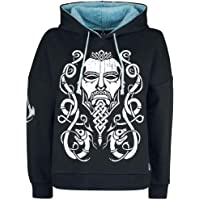 Assassins Creed Valhalla Capucha Face Teddy Style Oficial De Las Mujeres Negro