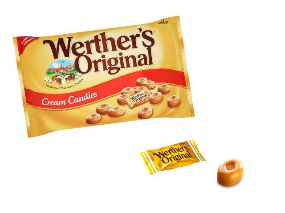 Lote de 2 kilos de Caramelos Werthers Original. Golosinas ...