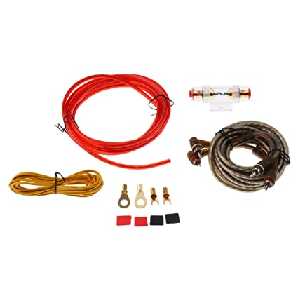 magideal car audio speaker cable wire wiring 8ga amplifier subwoofer rh amazon in