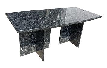 Granittisch Esstisch Kuchentisch Granit Tisch Gartentisch 180 X 90