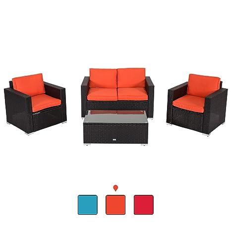 Amazon.com: Peach Tree - Juego de 4 muebles seccionales de ...