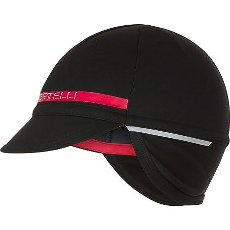 268f401c093 Amazon.com  Castelli Difesa 2 Cap Black