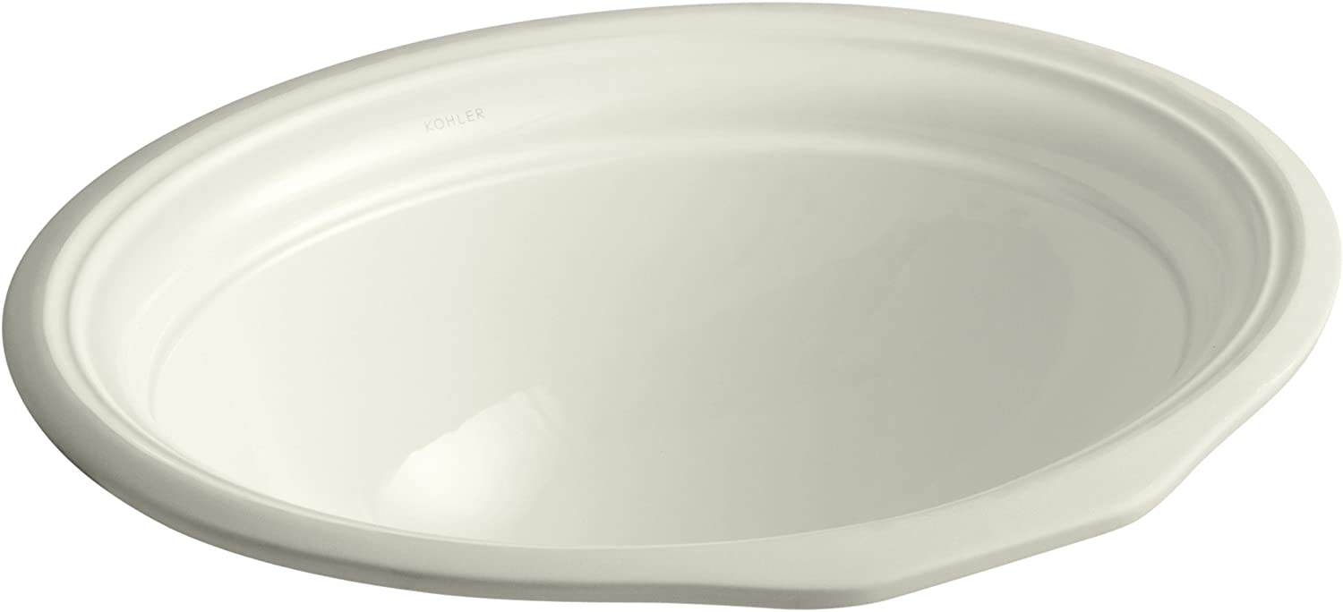 KOHLER K-2336-96 Devonshire Undercounter Bathroom Sink, Biscuit