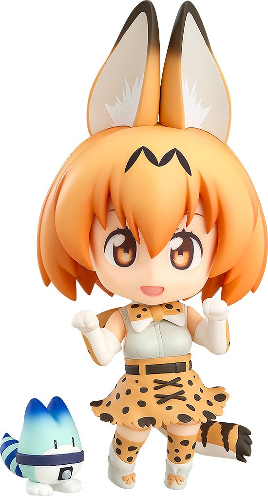 Amazon.com: Good Smile Kemono Friends: Serval Cat Nendoroid Action Figure: Toys & Games