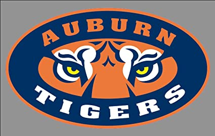 ecbdb55b790 Image Unavailable. Image not available for. Color  Auburn Tigers Bumper  Sticker ...