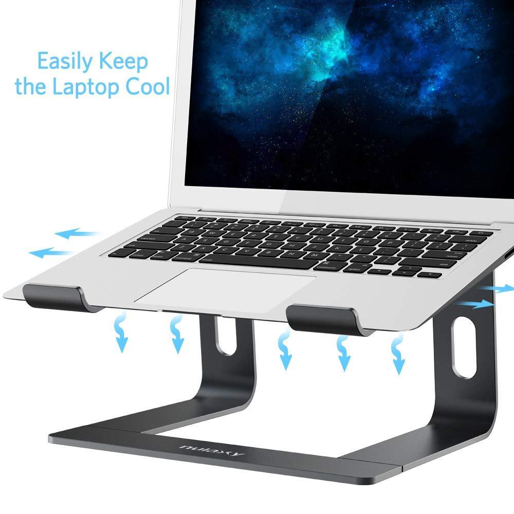 HP Sony Dell XPS universeller Abnehmbarer tragbarer robuster Aluminium-Notebook-PC-Schreibtischhalter Lenovo Da-upup Notebook-St/änder kompatibel mit Acer