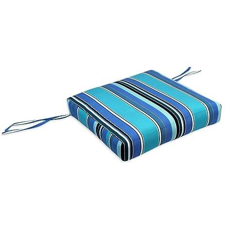 Amazon.com: Sunbrella Boxed estilo cojín por asiento de ...