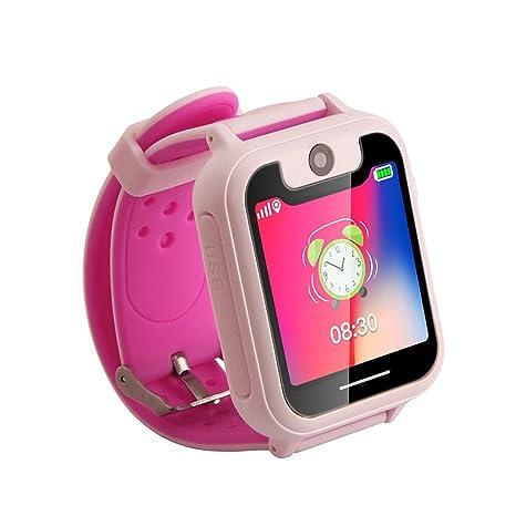 Amazon.com: Walmeck - Reloj inteligente para niños, con ...